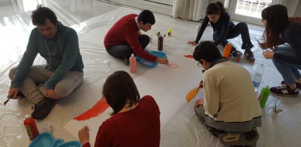 laboratorio artistico attività in gruppo